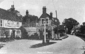 "<font size=3><u> - The Swan Inn - </u></font> (BS0039)  Finally closed in 1961.  For the story of the last Landlord, see ""Benson - A Century of Change"", pages 194 & 195."