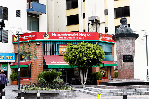 Menestras del Negro restaurant. Quito Ecuador