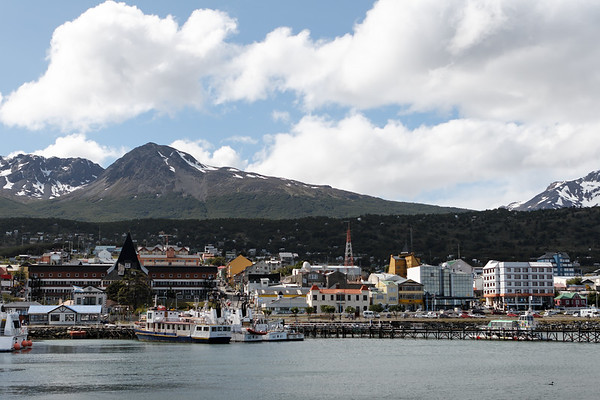 port. Ushuaia, Patagonia Argentina