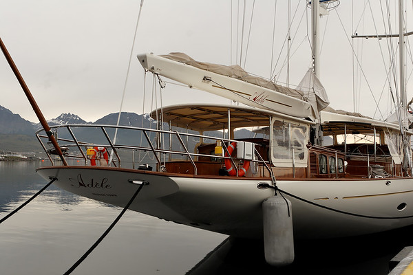sailboat. Ushuaia, Patagonia Argentina
