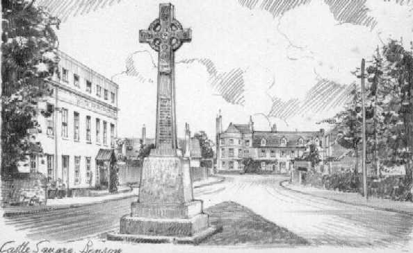 <font size=3><u> - Castle Square & War Memorial - </u></font> (BS0116)