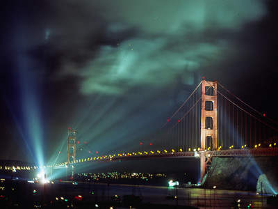 The Golden Gate Bridge's 50th birthday bash