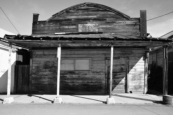 From Locke, CA; a small historic Chinese-American town built in 1915 along the Sacramento River.  http://www.locketown.com/