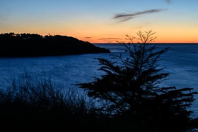 Sunset over Pt. Lobos