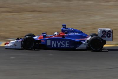 Marco Andretti - Winner (1st Indycar win)