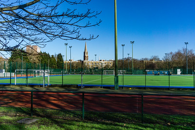 Football and Hockey pitches