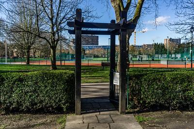 Rose Garden entrance/exit