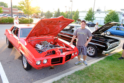 Jeff Clark of Carleton parked his '69 Firebird in front of Home Depot in Taylor for the cruise. Jeff picked up this beauty in 1985. Car enthusiasts from all over lined Telegraph, from Taylor to Redford Saturday for the annual Telegraph Cruise. Photos by Matt Thompson, Copyright 2016 The News-Herald and Press & Guide