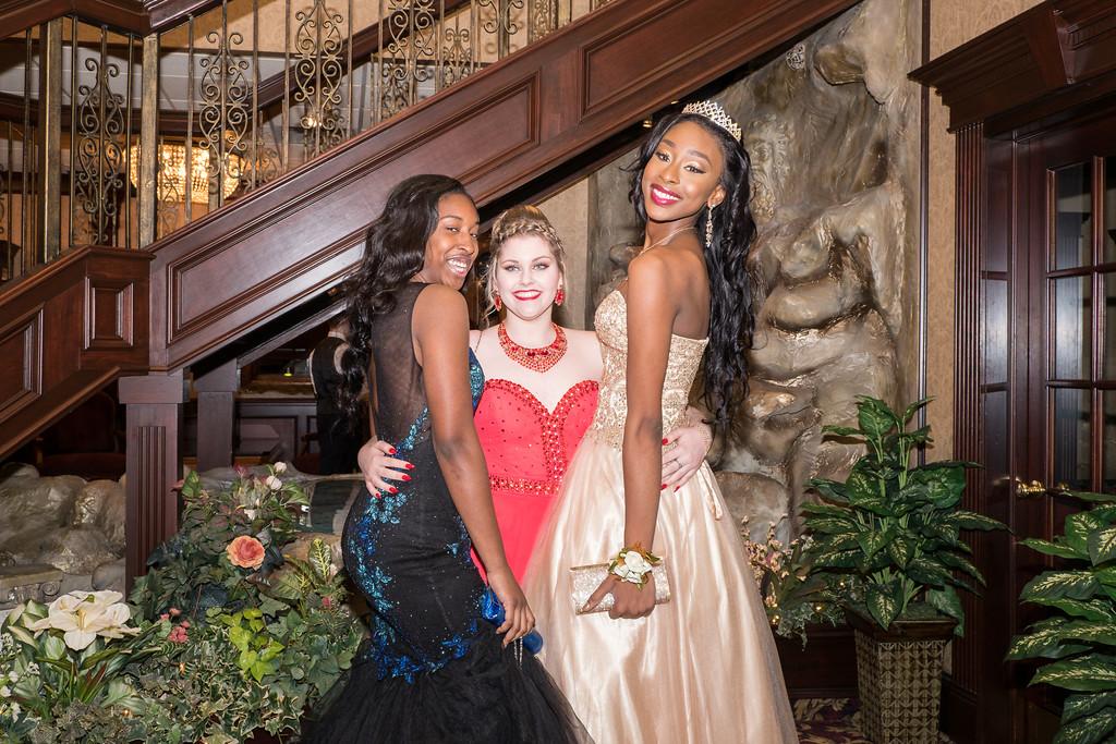 . Tamara Cummings, Chloe Osborne and Precious Jackson. Photo by Debbie Malyn for The News Herald.