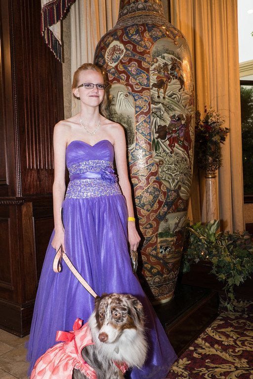 . Tamara Simon and her service dog Piper. Photo by Debbie Malyn for The News Herald.