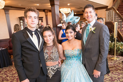 Symon Stroia, Leticia Delagarza, Seqora Llanes and Jovanni Cole dressed to impress at Riverview's 2017 Prom. Riverview Community High School held their 2017 Prom at Crystal Gardens in Southgate. Photos by Matt Thompson for The News-Herald