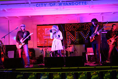 Wyandotte rang in the new year with their first ever Rockin' NYE event, featuring a ball drop at 9 and midnight, as well as entertainment from national acts Sponge and Kaitlyn Barbee, as well as local bands such as The Sarah Sherrard Band and Eva Under Fire. Photos by Matt Thompson for The News-Herald