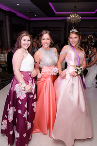 Yes, they have pockets! Lela Jiminez (left), Whitney Clark an Bree Yanos sport the newest fashion trend at Woodhaven's prom. Woodhaven High School held their 2017 Prom at The Bentley in Wyandotte Thursday night. Photos by Matt Thompson for The News-Herald