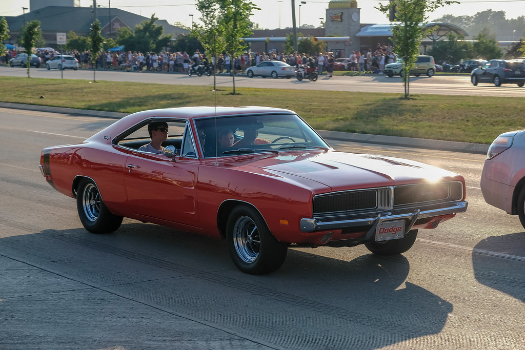 . Despite some confusion about the date, and the scorching heat and humidity, thousands of car enthusiasts packed Fort Street for the 2018 Cruisin\' Downriver. Photos by Matthew Thompson for The News-Herald