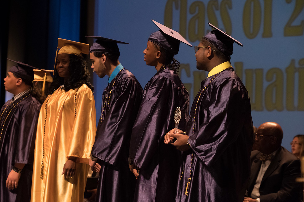 . The Academy for Business and Technology in Melvindale held their 2017 Commencement at the Ford Community and Performing Arts Center in Dearborn on Tuesday June 13. Photos by Matt Thompson for The News-Herald