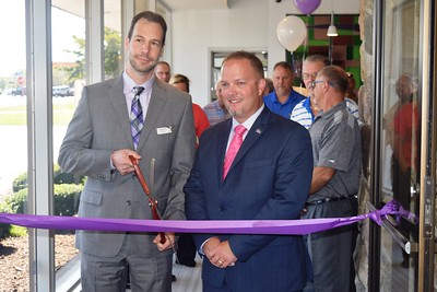 The Alliance Catholic Credit Union branch in Taylor held it's grand re-opening Sept. 22. the building was completely remodeled over the last six months.