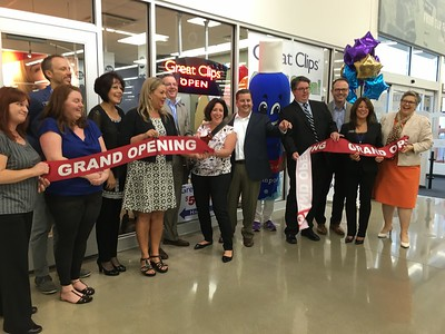 Great Clips opened its 4,000th salon Tuesday, becoming part of the offerings at the new Flat Rock Meijer store. Photo courtesy of Diane Czopek