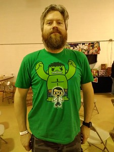"""John Kalel, owner of yourcomiccon.com hosted his second annual """"Big Show"""" at the Taylor Town Trade Center July 30 and 31. Photos courtesy of Heather Miles."""