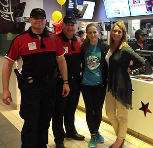 Members of the Lincoln Park Police Department recently donned uniforms at McDonald's and ran the restaurant for a few hours to raise money for their annual Cops Care picnic.
