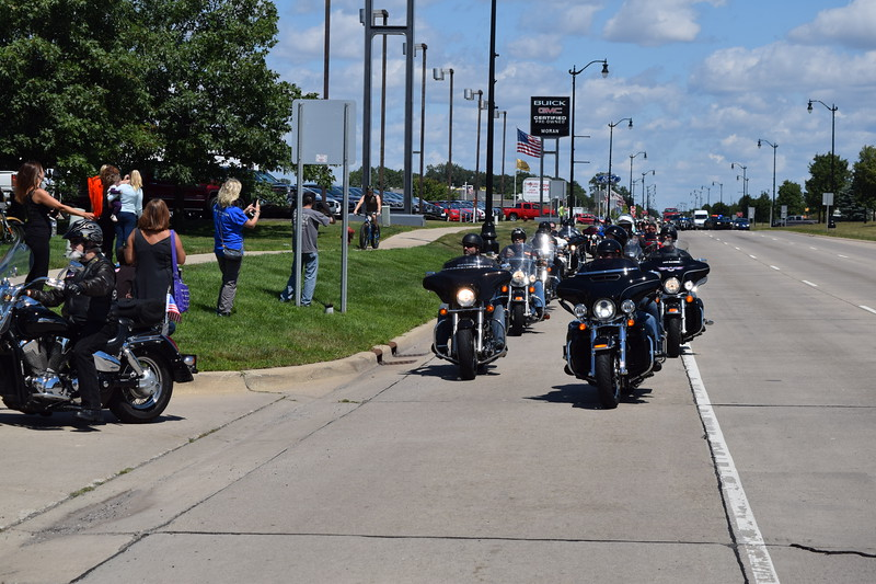 The 2017 Ride for Autism was the 13th year for the charity run. Proceeds raised by the motorcycle run, which ended at Biker Bob's Harley Davidson in Taylor, go to support events for families of Autistic people. The charity puts on several parties each year at no charge to the families.  Dave Herndon - The News-Herald