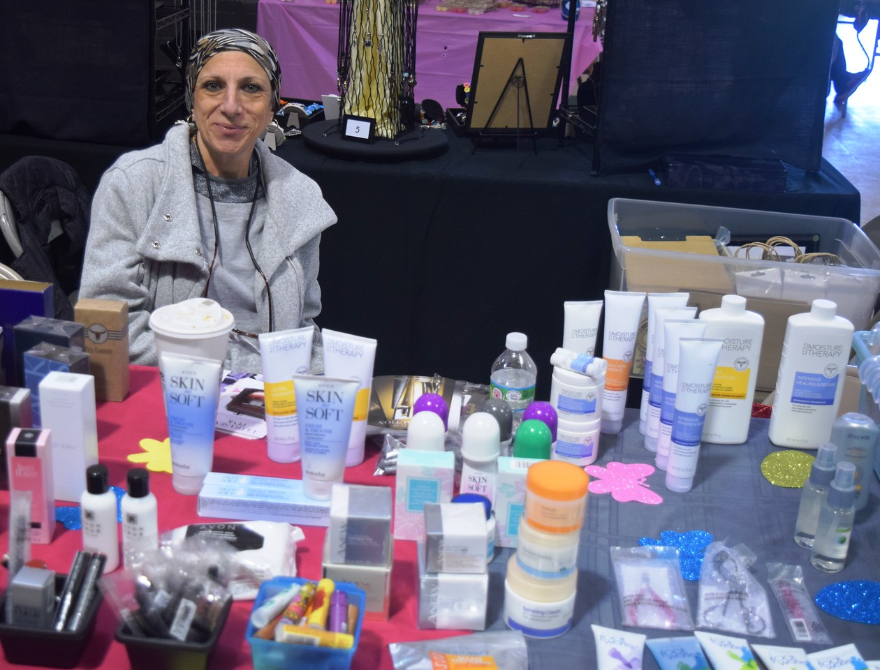 About two dozens crafters and other vendors attended the Spring Craft and Vendor Show in Taylor.