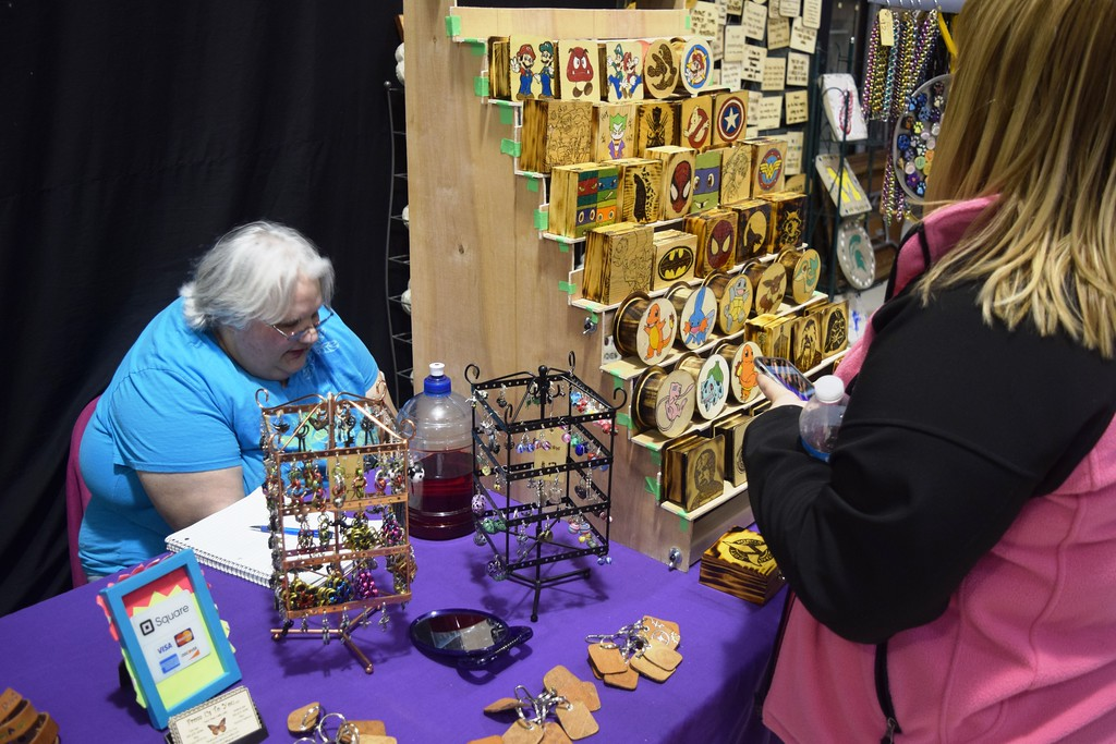 . About two dozens crafters and other vendors attended the Spring Craft and Vendor Show in Taylor.