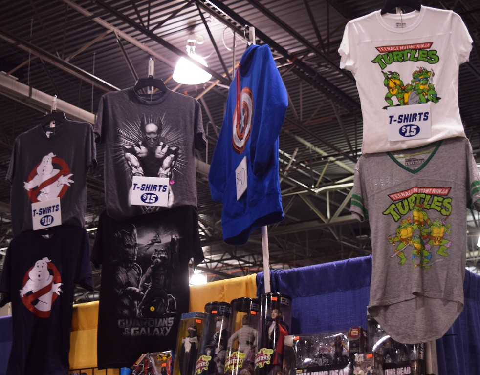 . The 2016 Motor City Comic Con wrapped up Sunday with the third day of the show.