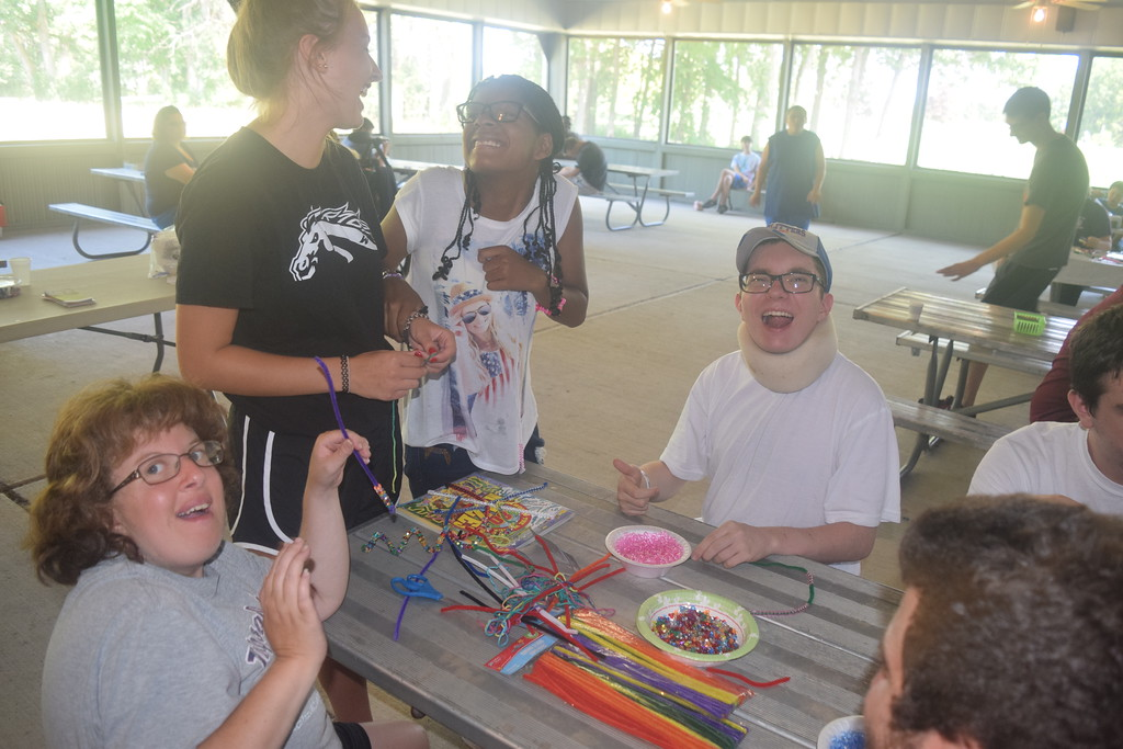 . Co-Directors Gail Sombati and Jennifer Campau put on the VIP Camp in Taylor every year. The camp caters to special needs students. Dave Herndon - The News-Herald