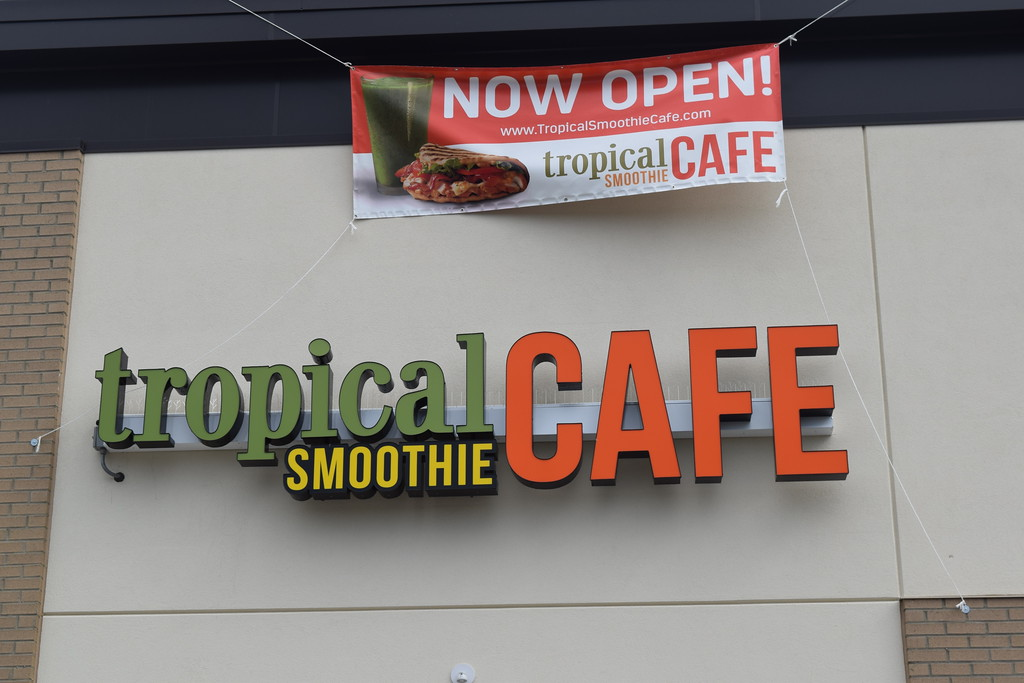 . Aug. 11 was the official grand opening for the Eureka Road location of the Tropical Smoothie Cafe in Taylor.  Dave Herndon - The News-Herald