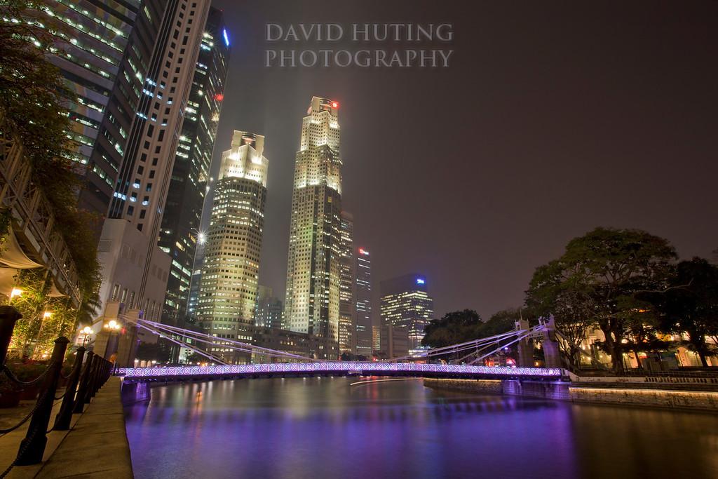 Purple Bridge View