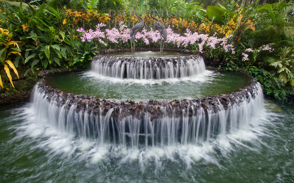 Fountain Flowing