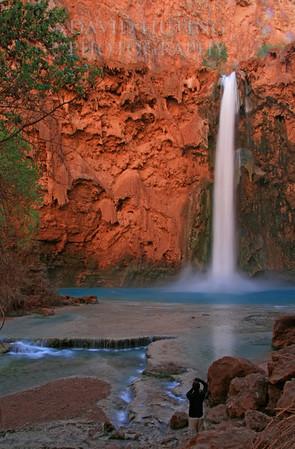 Mooney Falls - Catching a Photo
