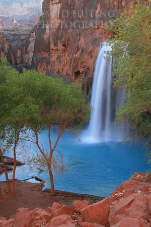 Sunrise on Havasu Falls