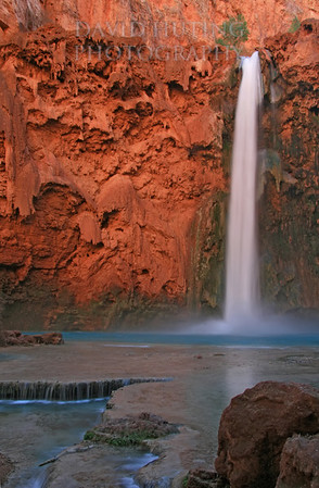 Mooney Falls Bottom View