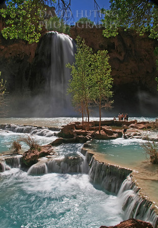 Colorful Afternoon at Havasu Falls