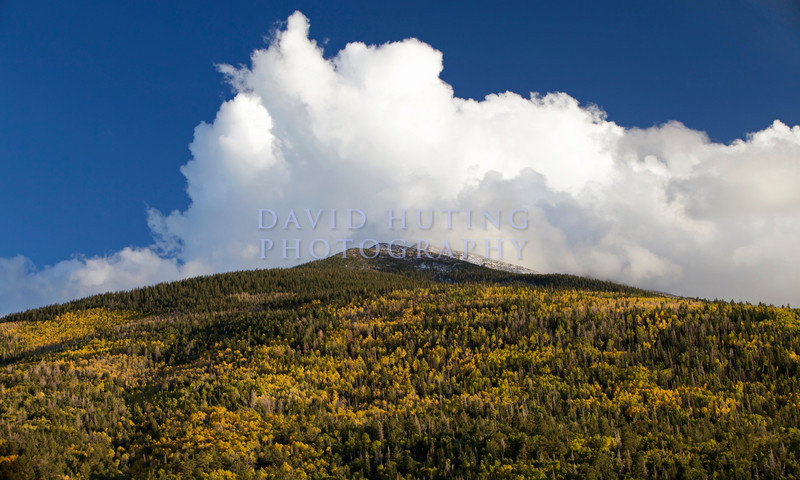Fall Mountain Clouds View Zoomedc
