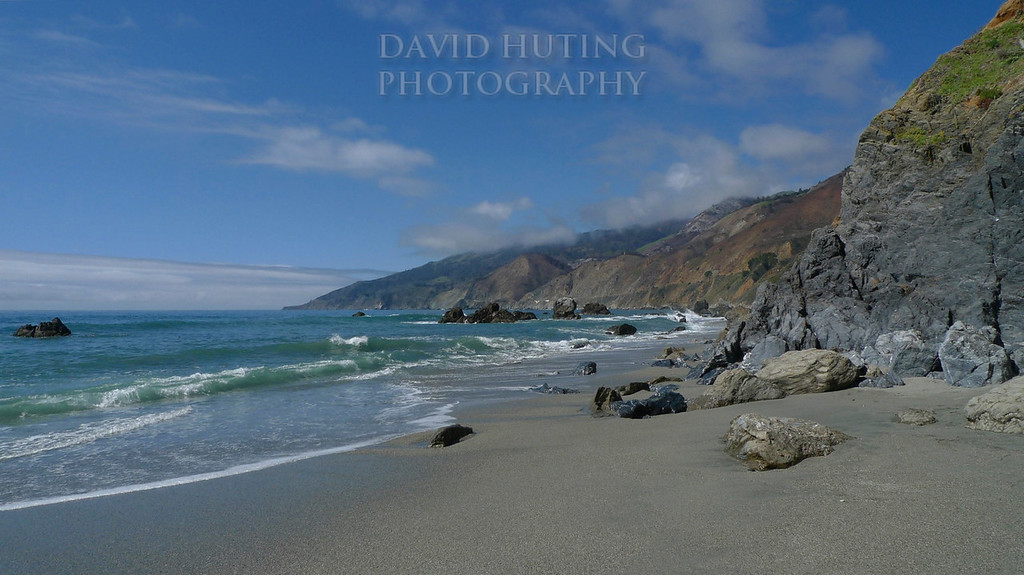 Pristine Coastal Beach<br /> (near Kirk's Creek Campground, Big Sur)