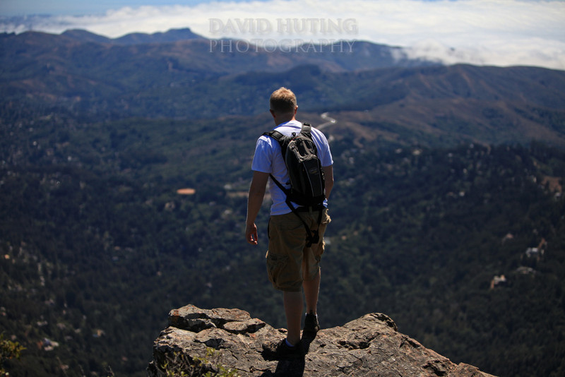 Reflecting on top of Mount Tam