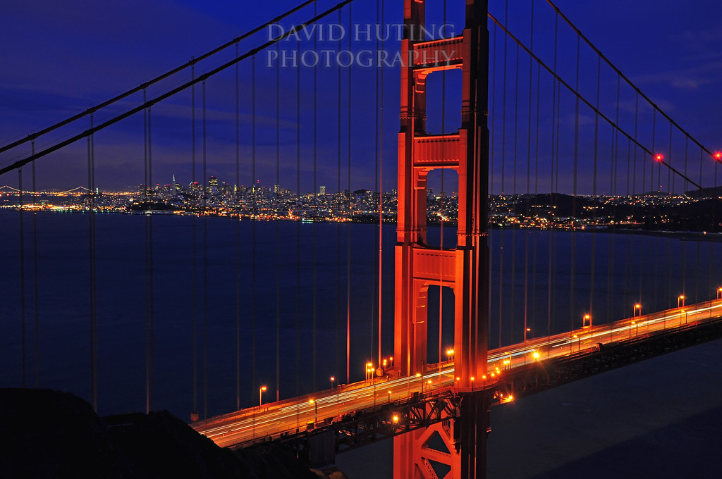 Golden Gate Bridge Night View BEST
