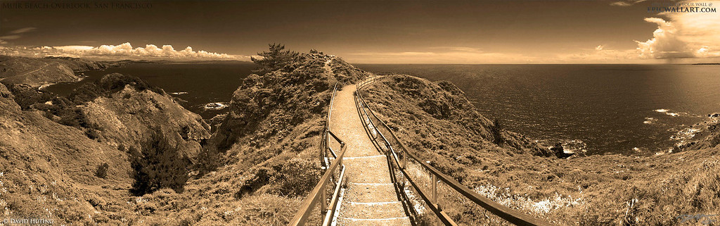 muir beach overlook pano sepia lqw
