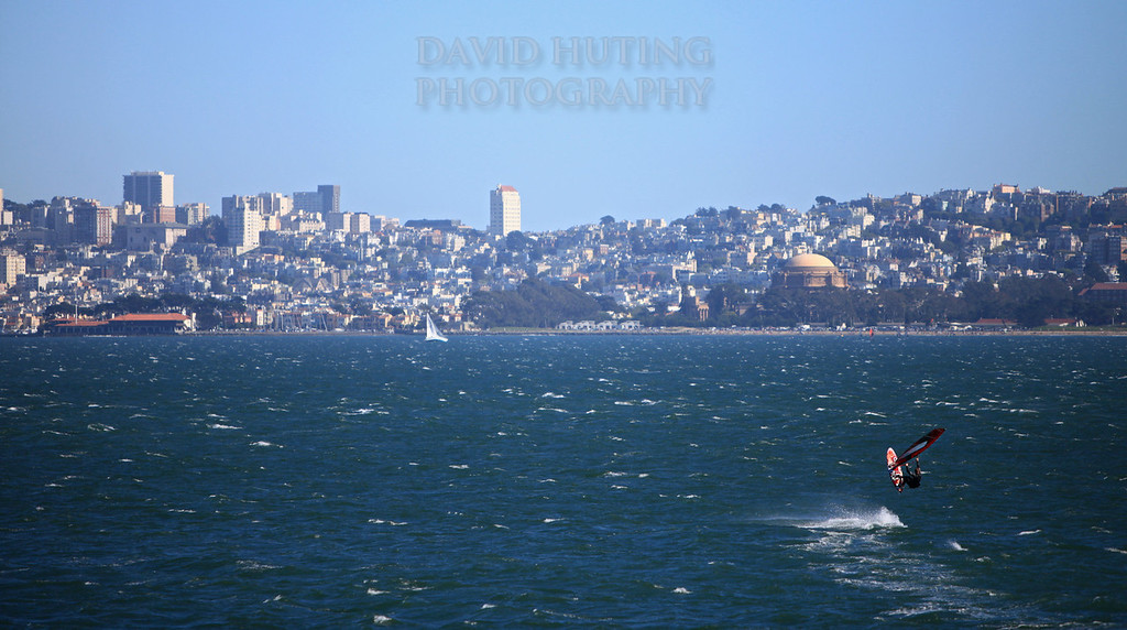 Windsurfer Jumping - SF