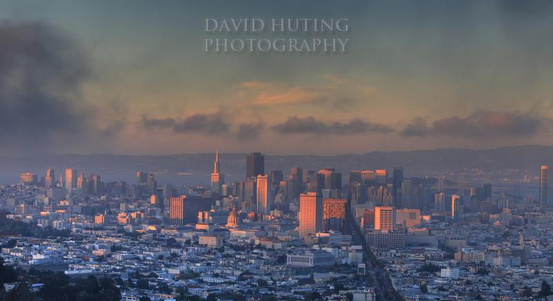 SF view twin peaks
