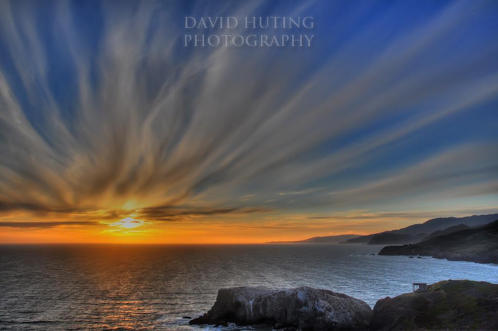 CRAZY Northern California Skies (HDR)