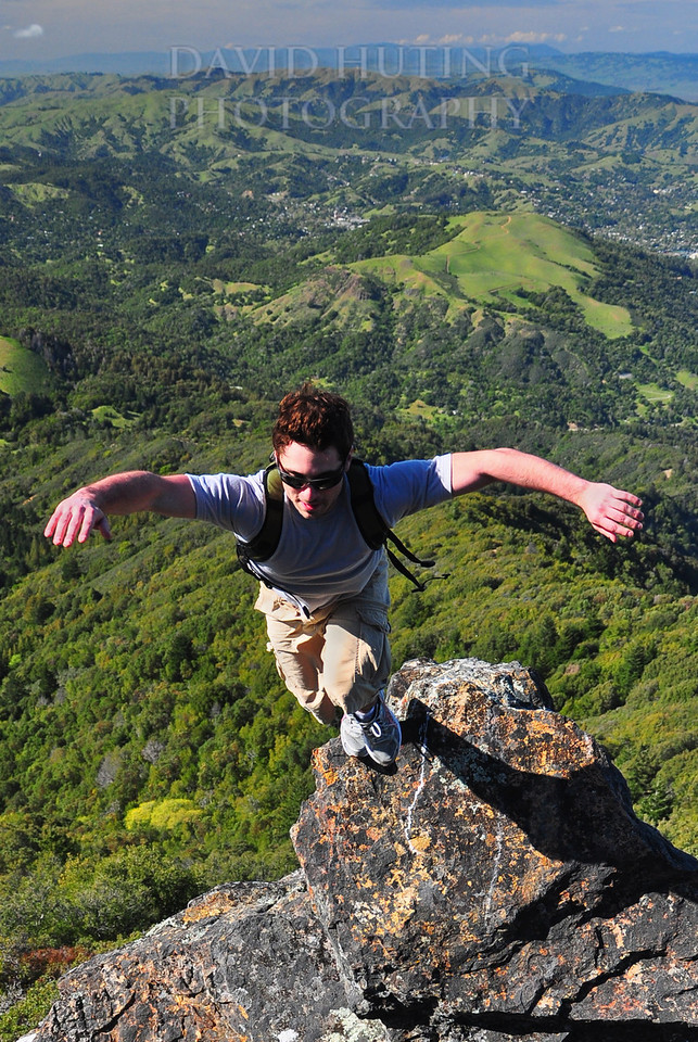 Flying Above Mt Tam