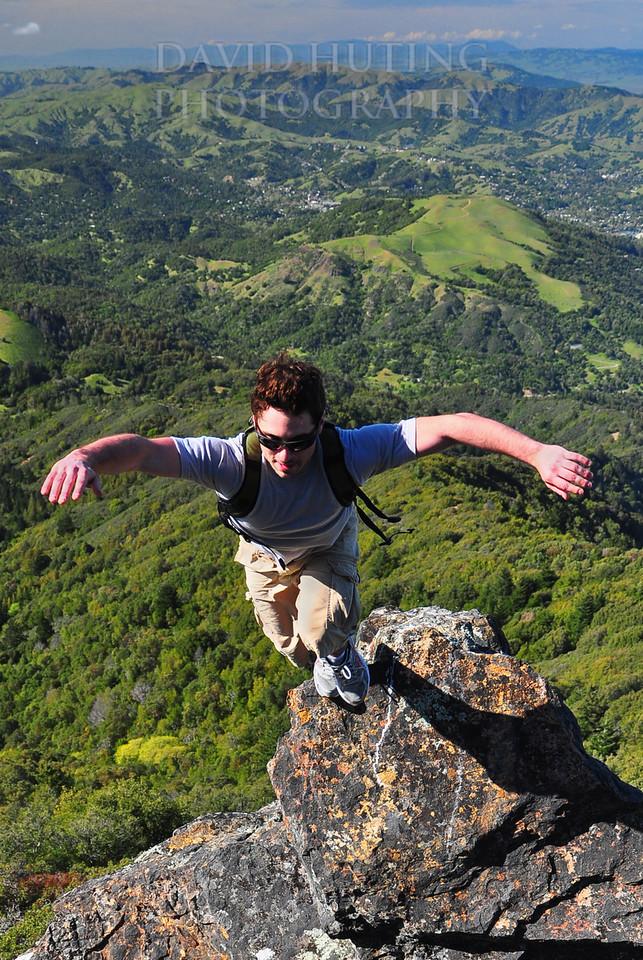 Flying Above Mt Tam