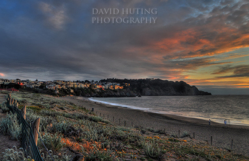 Baker Beach Sunset <br /> (HDR)