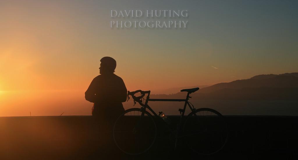 Biking SF Silhouette
