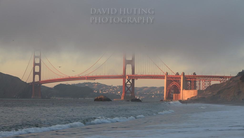 Foggy Golden Gate Bridge BEST