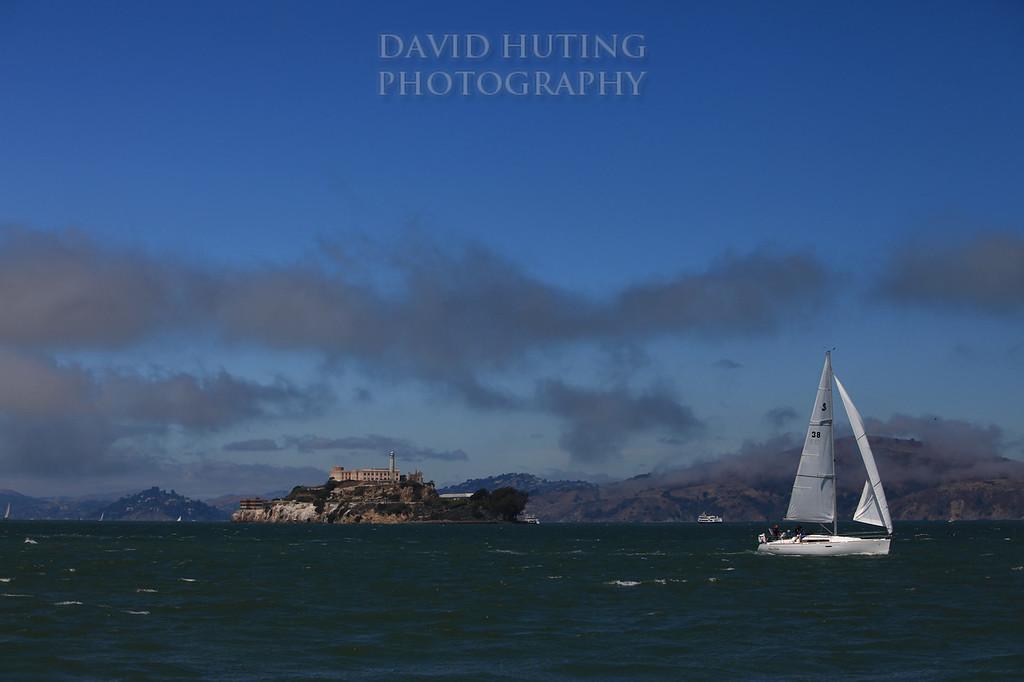 Alcatraz Sailboat View