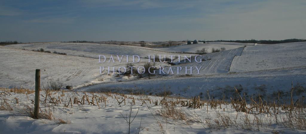 Classic Iowa Winter scene...